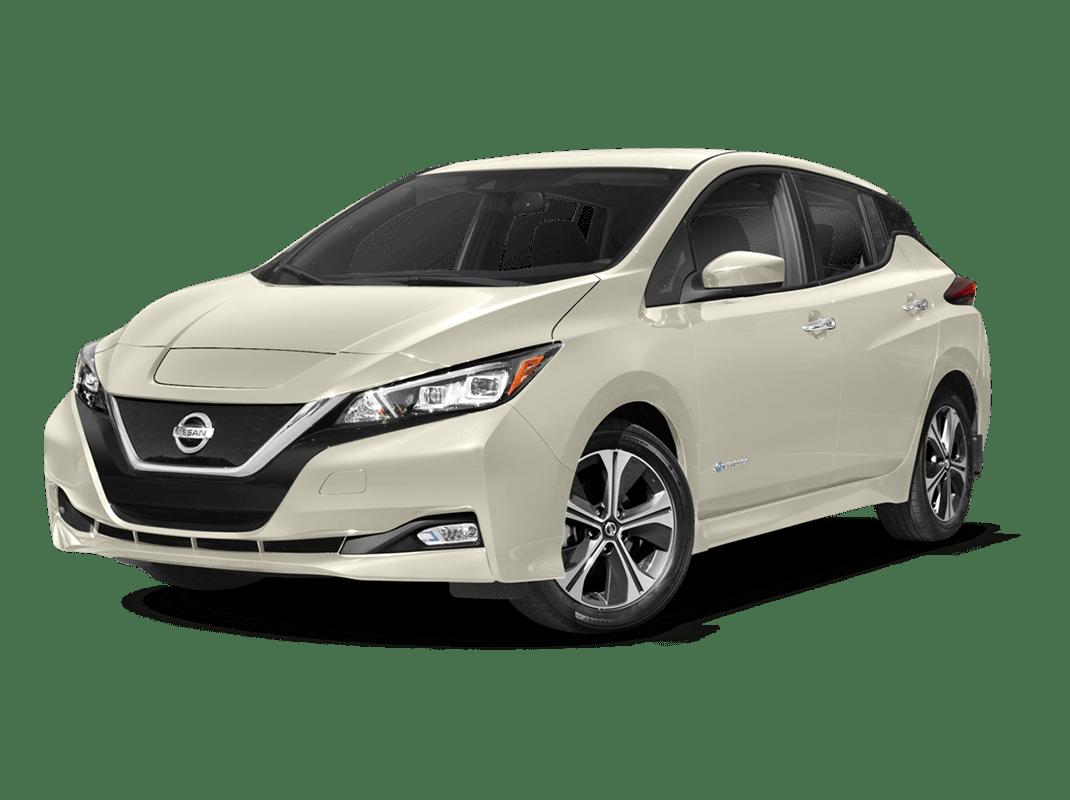 Nissan Leaf- glacier white - 2018 Nissan Leaf