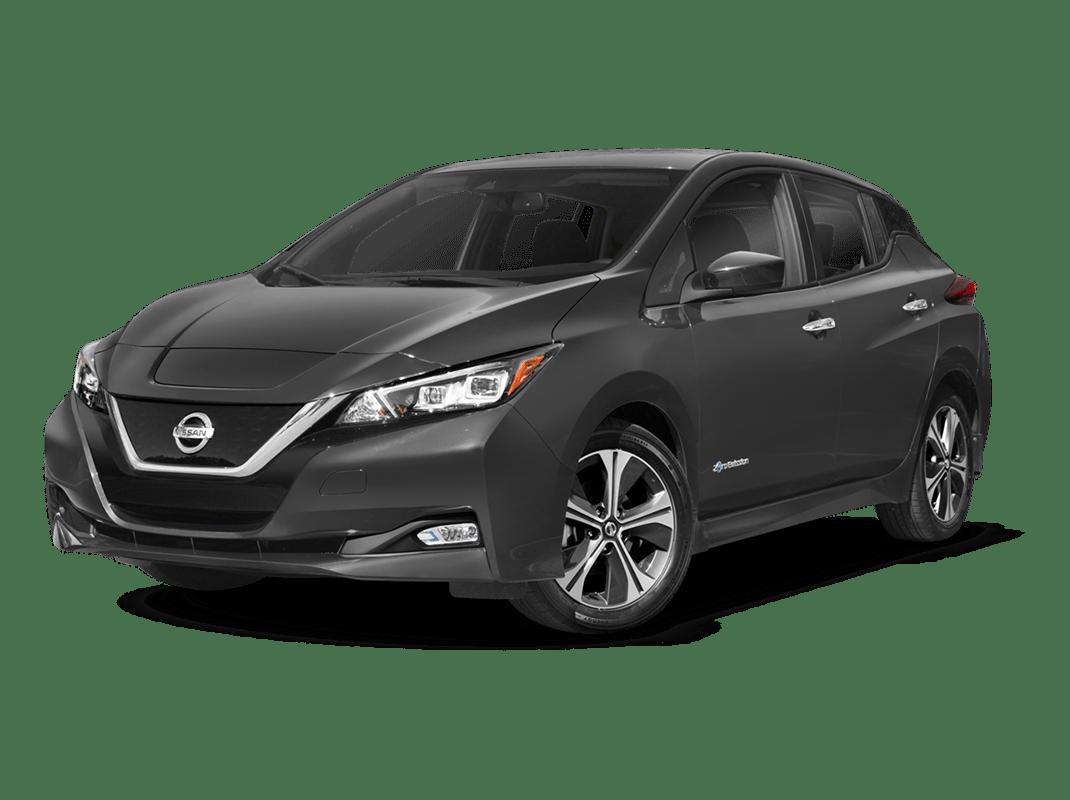 Nissan Leaf- gun metallic - 2018 Nissan Leaf