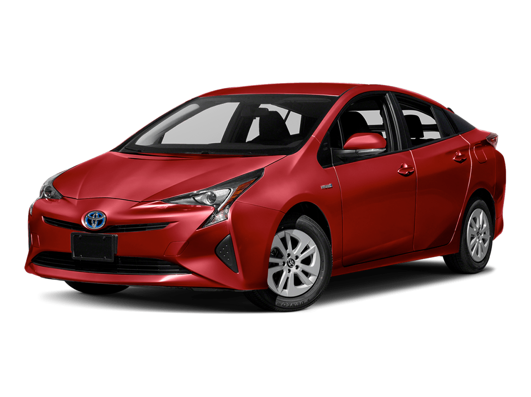 Toyota Prius- hypersonic red - 2018 Toyota Prius One