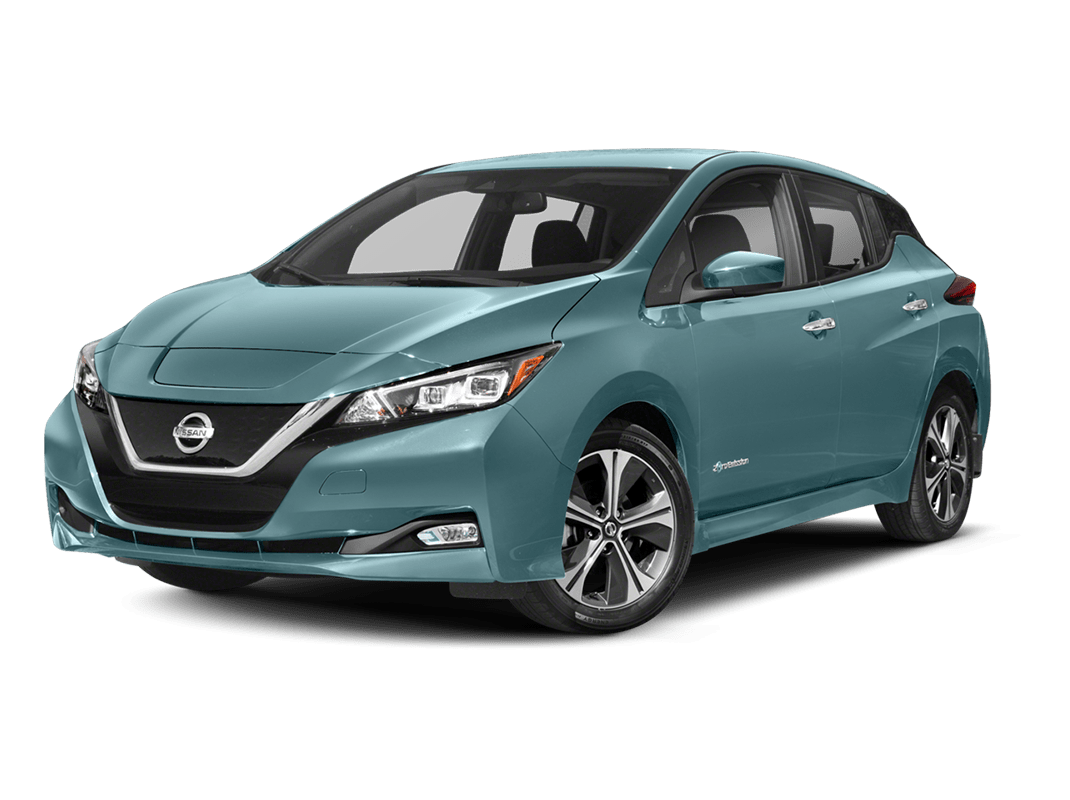 Nissan Leaf- jade frost - 2018 Nissan Leaf