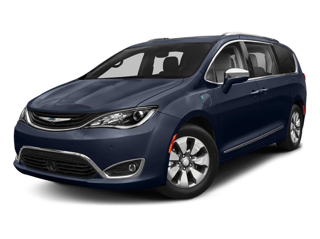 Chrysler Pacifica- jazz blue pearlcoat - 2018 Chrysler Pacifica Hybrid