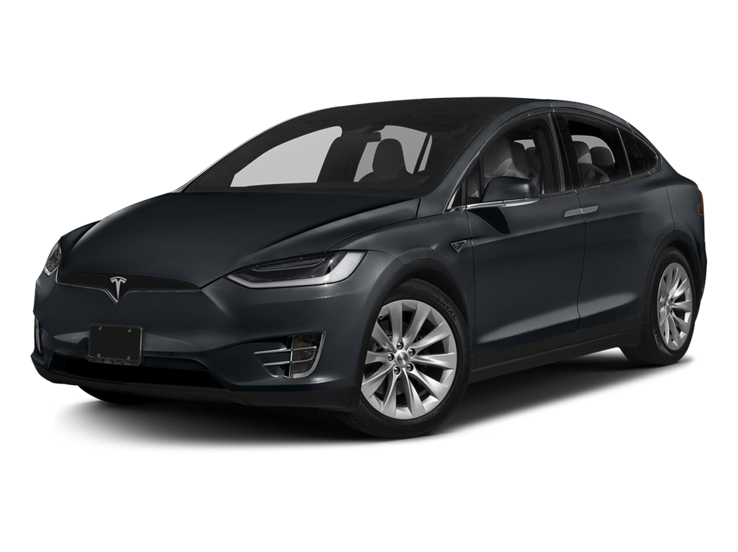 Tesla Model X-midnight silver metallic - 2018 Tesla Model X