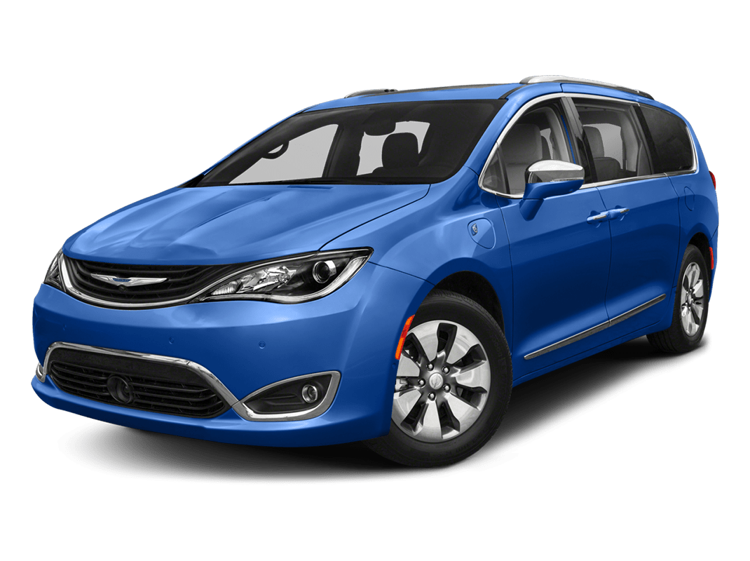Chrysler Pacifica- ocean blue metallic - 2018 Chrysler Pacifica Hybrid
