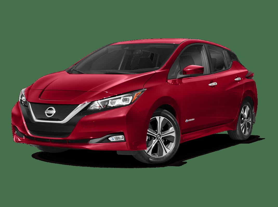 Nissan Leaf- scarlet ember - 2018 Nissan Leaf