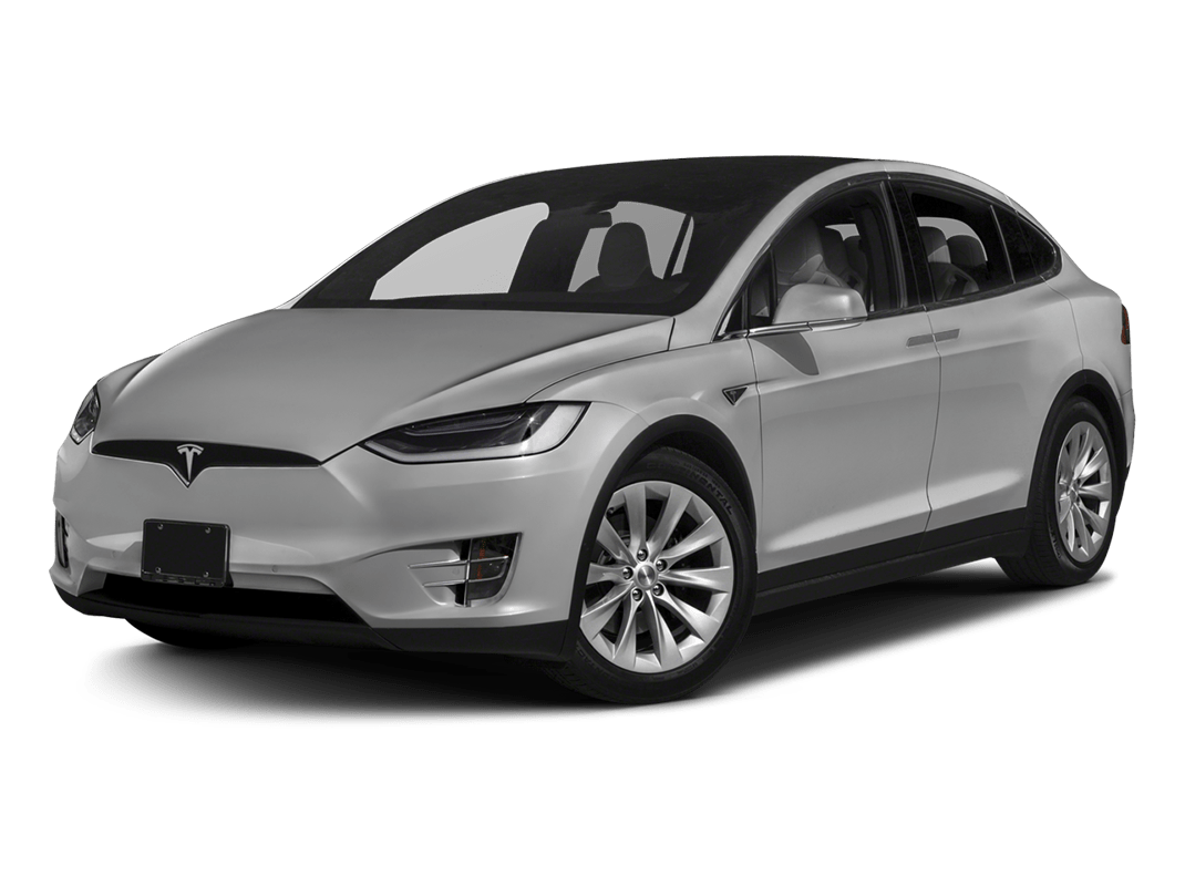 Tesla Model X-silver metallic - 2018 Tesla Model X