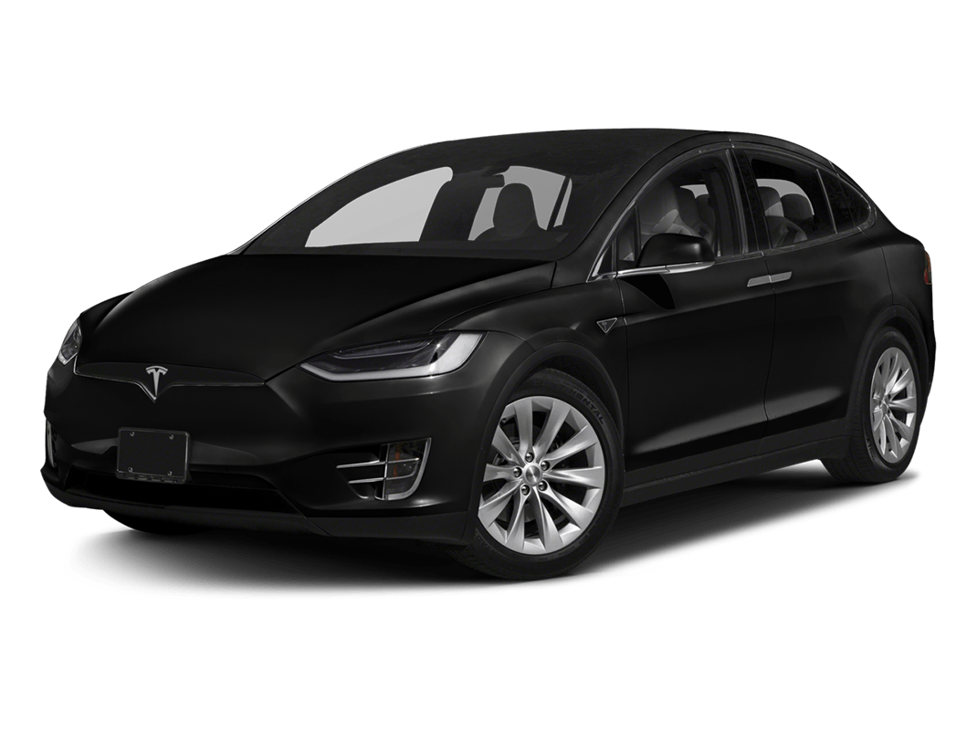 Tesla Model X- solid black - 2018 Tesla Model X