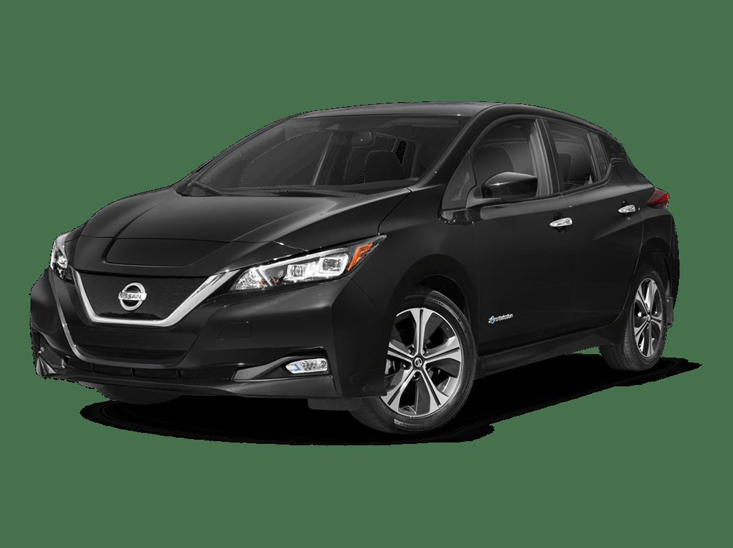 Nissan Leaf- solid black - 2018 Nissan Leaf