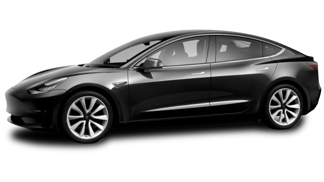 Solid Black - 2018 Tesla Model 3