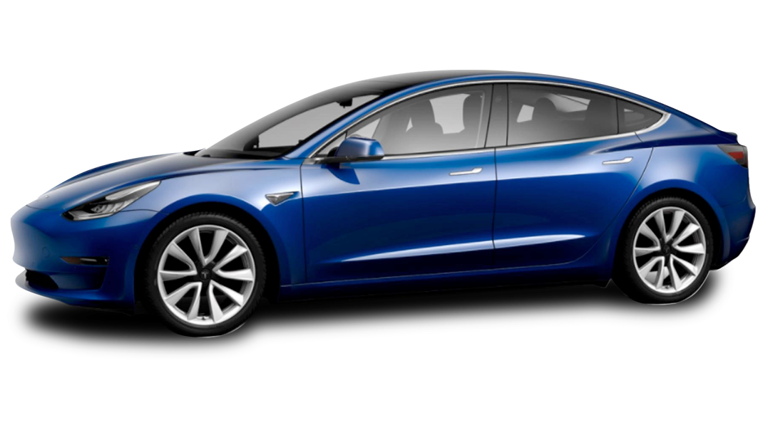 Deep Blue Metallic - 2018 Tesla Model 3