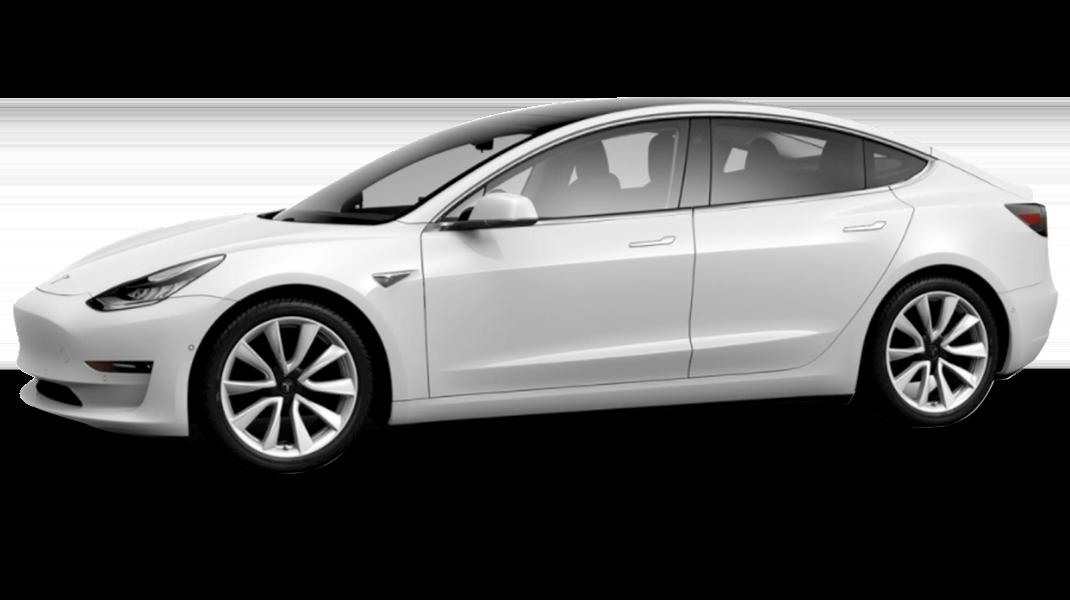 White Pearl - 2018 Tesla Model 3