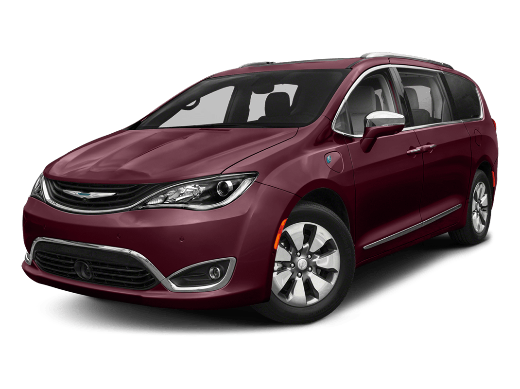 Chrysler Pacifica- velvet red pearlcoat - 2018 Chrysler Pacifica Hybrid