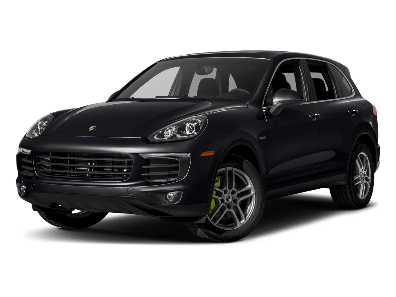 Jet Black Metallic - 2018 Porsche Cayenne Hybrid
