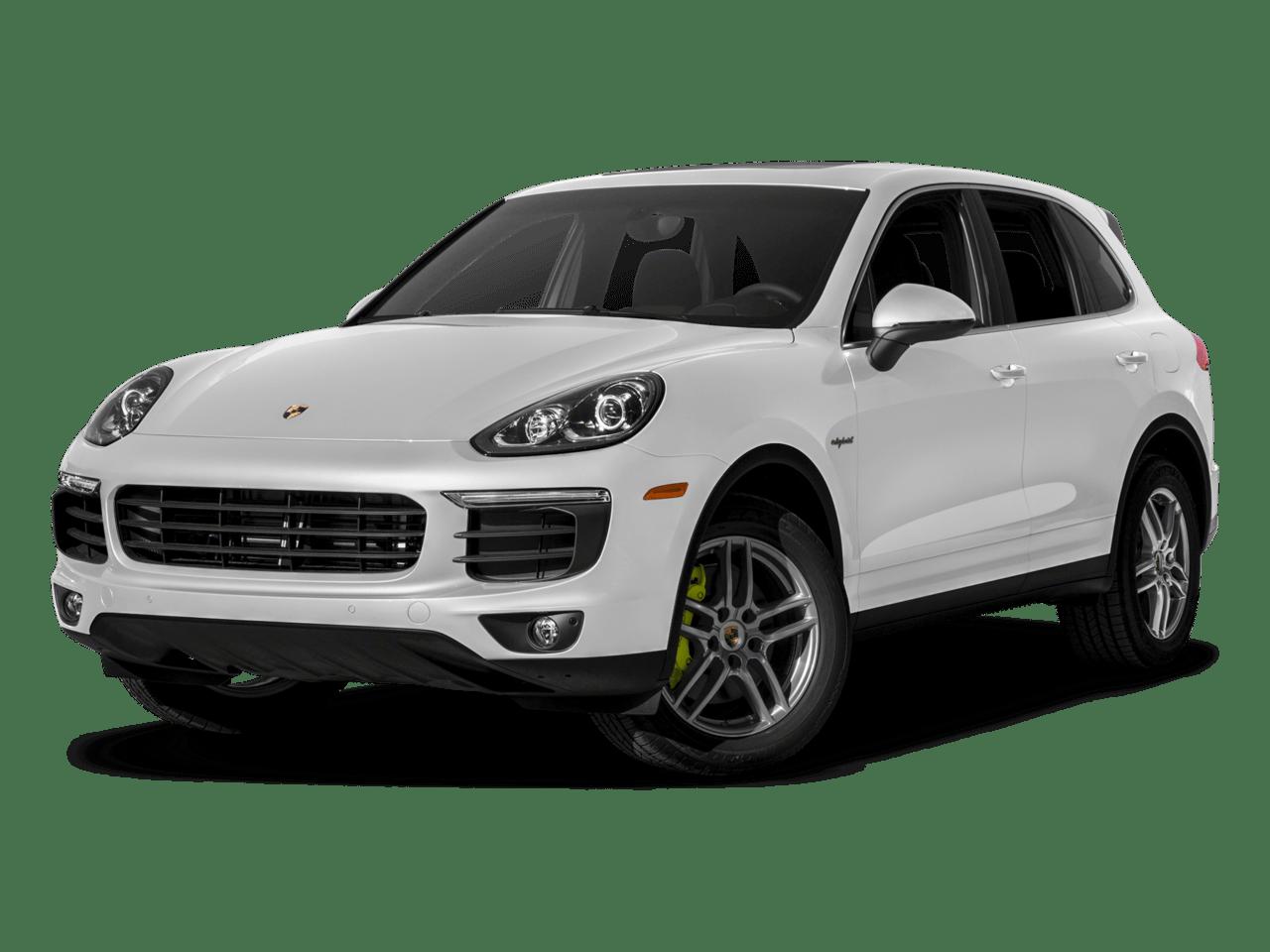 White - 2018 Porsche Cayenne Hybrid