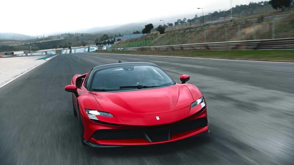 SF90 Stradale Front Third