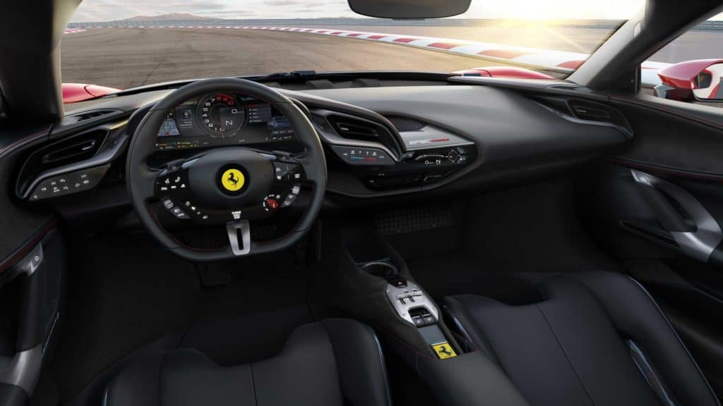 SF90 Stradale Interior