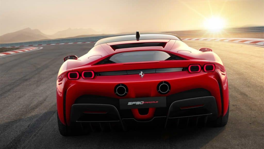 SF90 Stradale Rear End