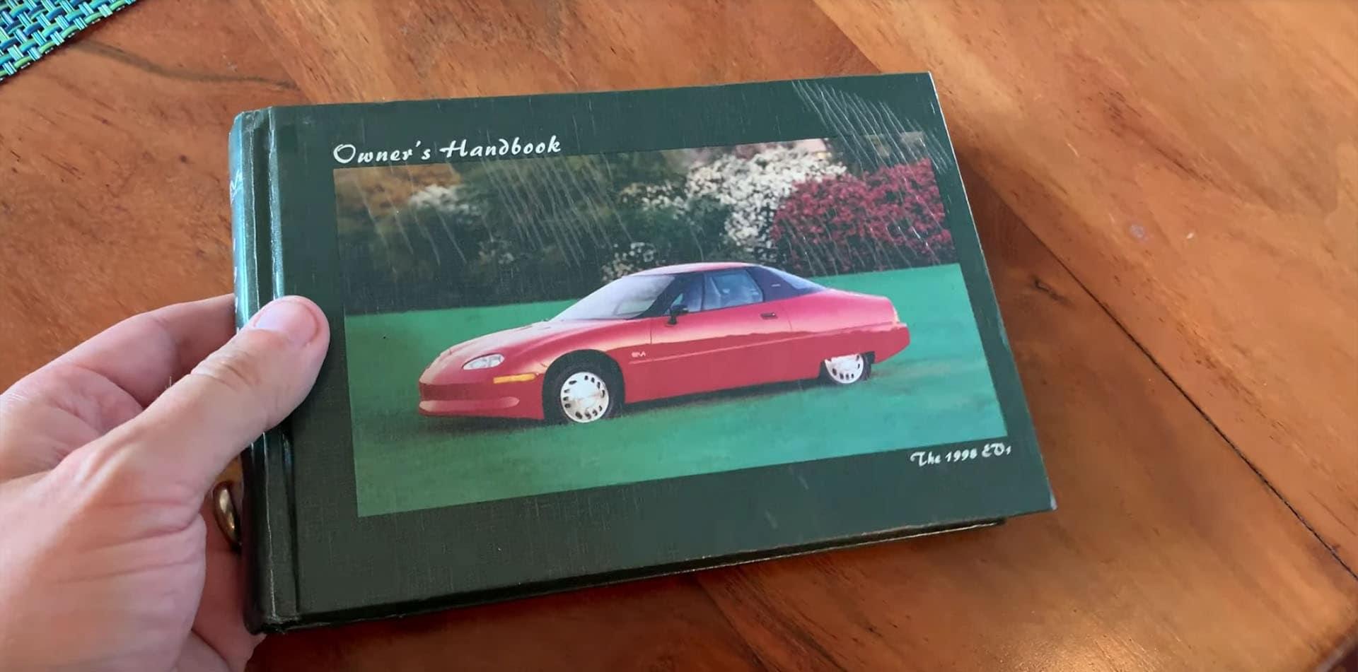 GM EV1 Owner's Manual