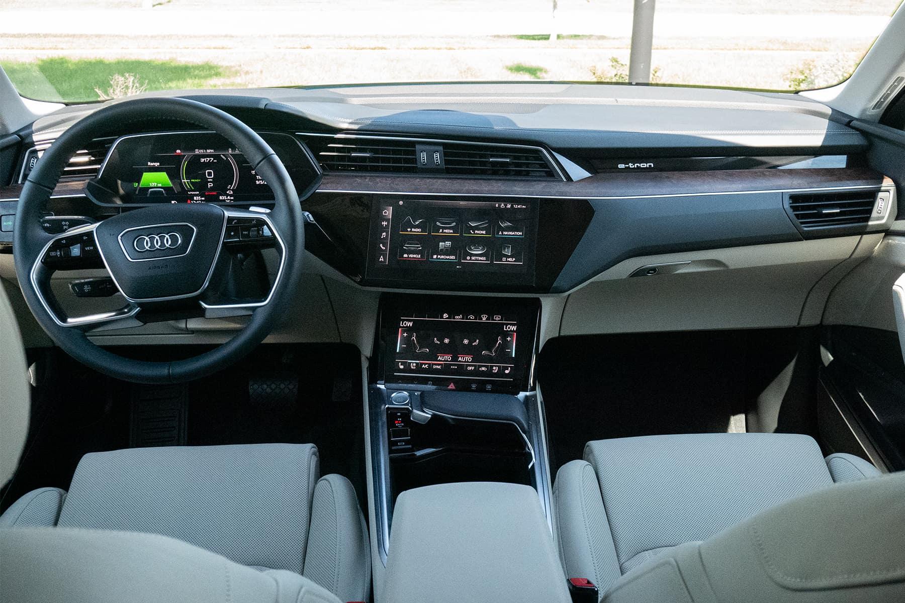 Audi e-tron Interior 2