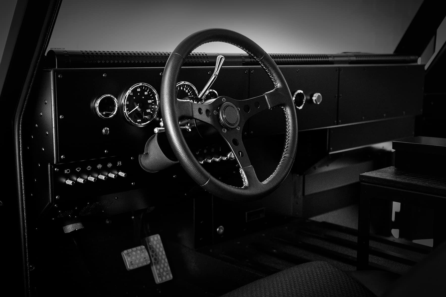 Bollinger Motors Dashboard