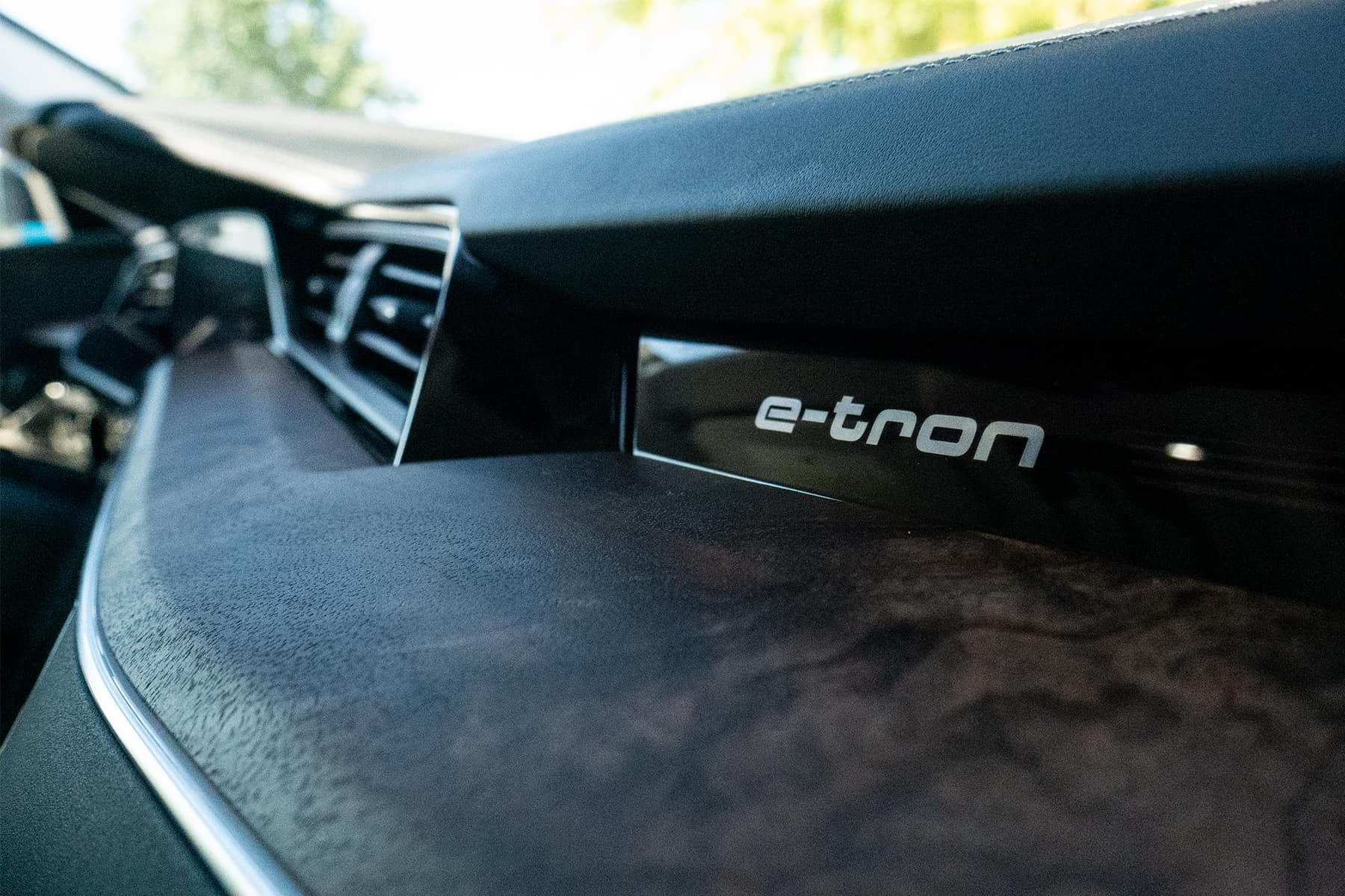 Audi e-tron Interior Badge