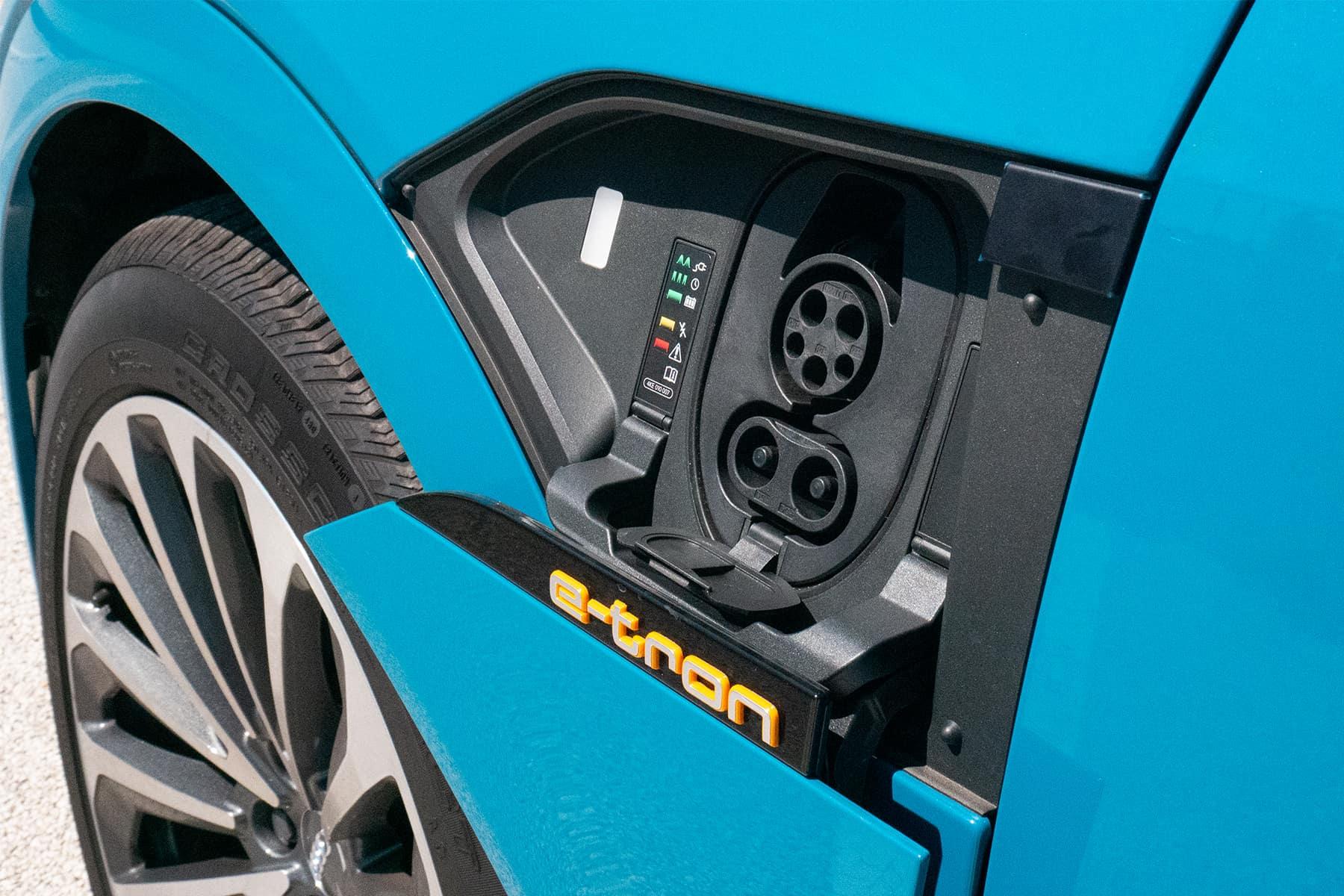 Audi e-tron Charge Port
