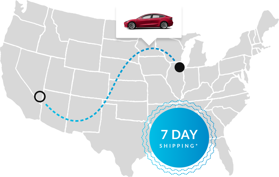 Electric Vehicle Shipping in 3-9 Days