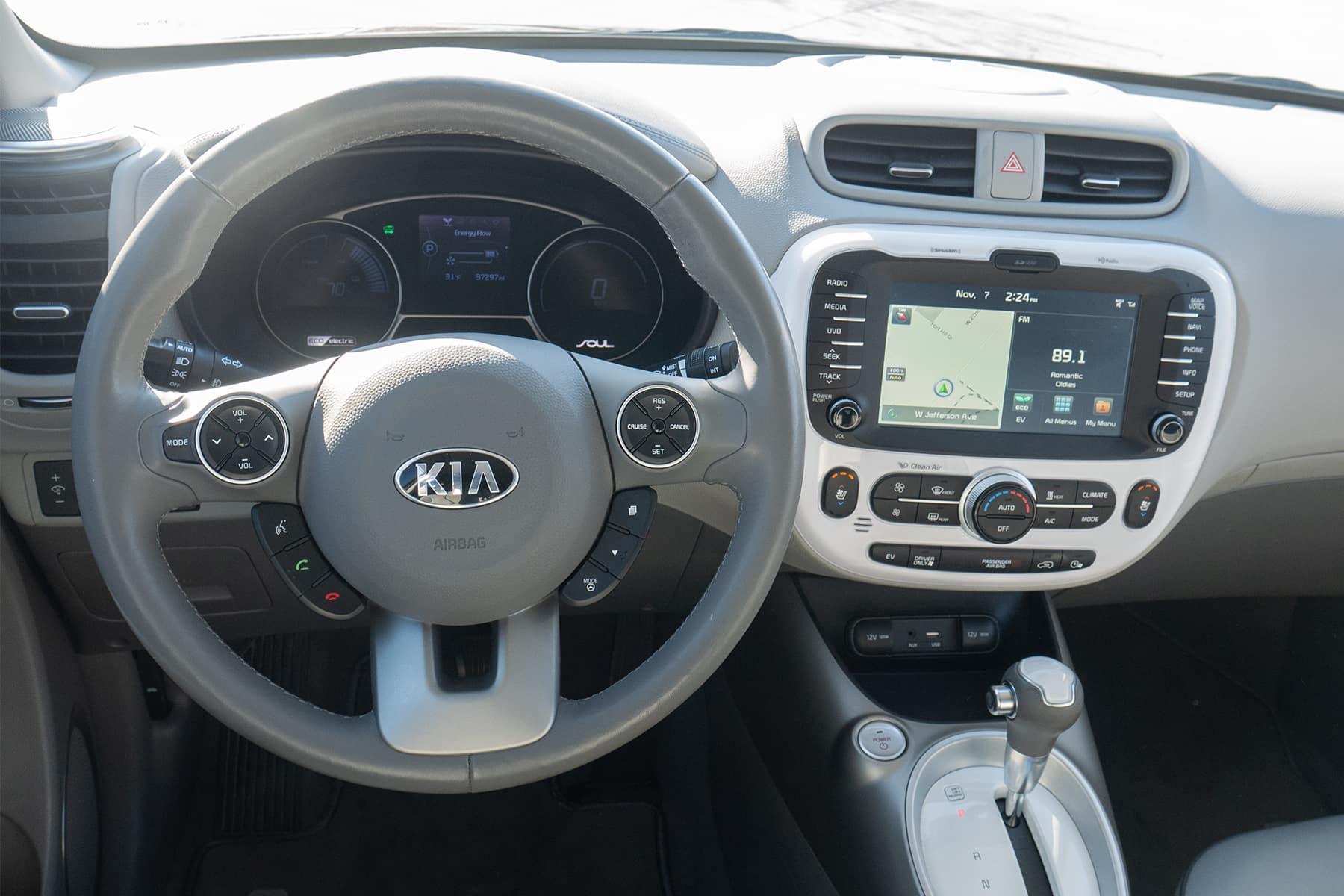 Kia Soul EV Driver's View