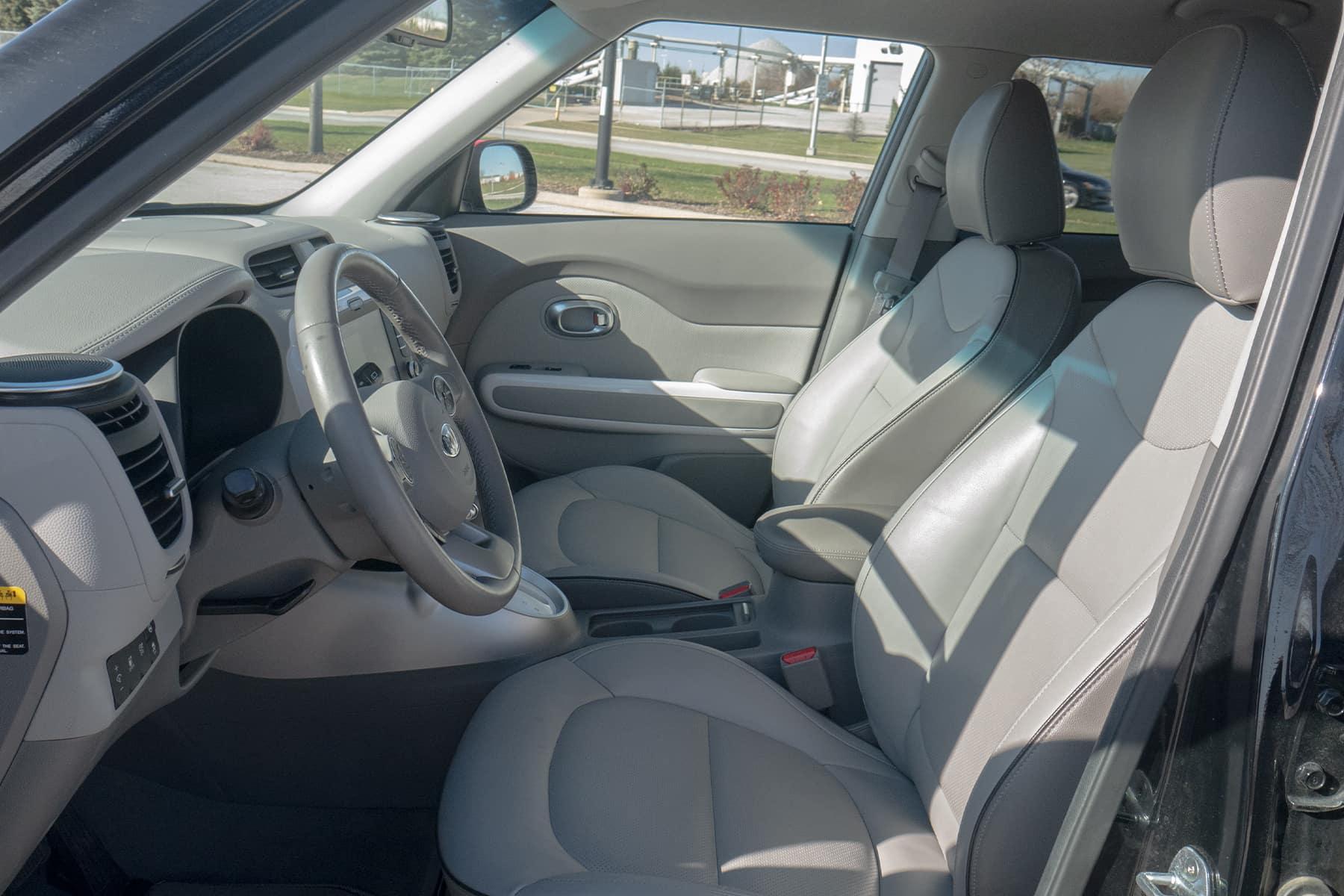 Kia Soul EV Front Interior