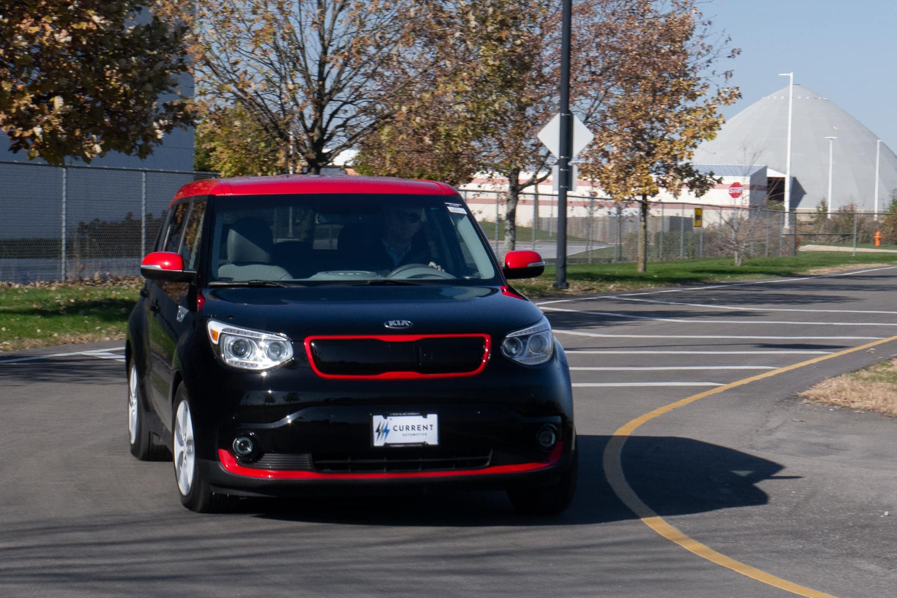 Kia Soul EV Turning-In