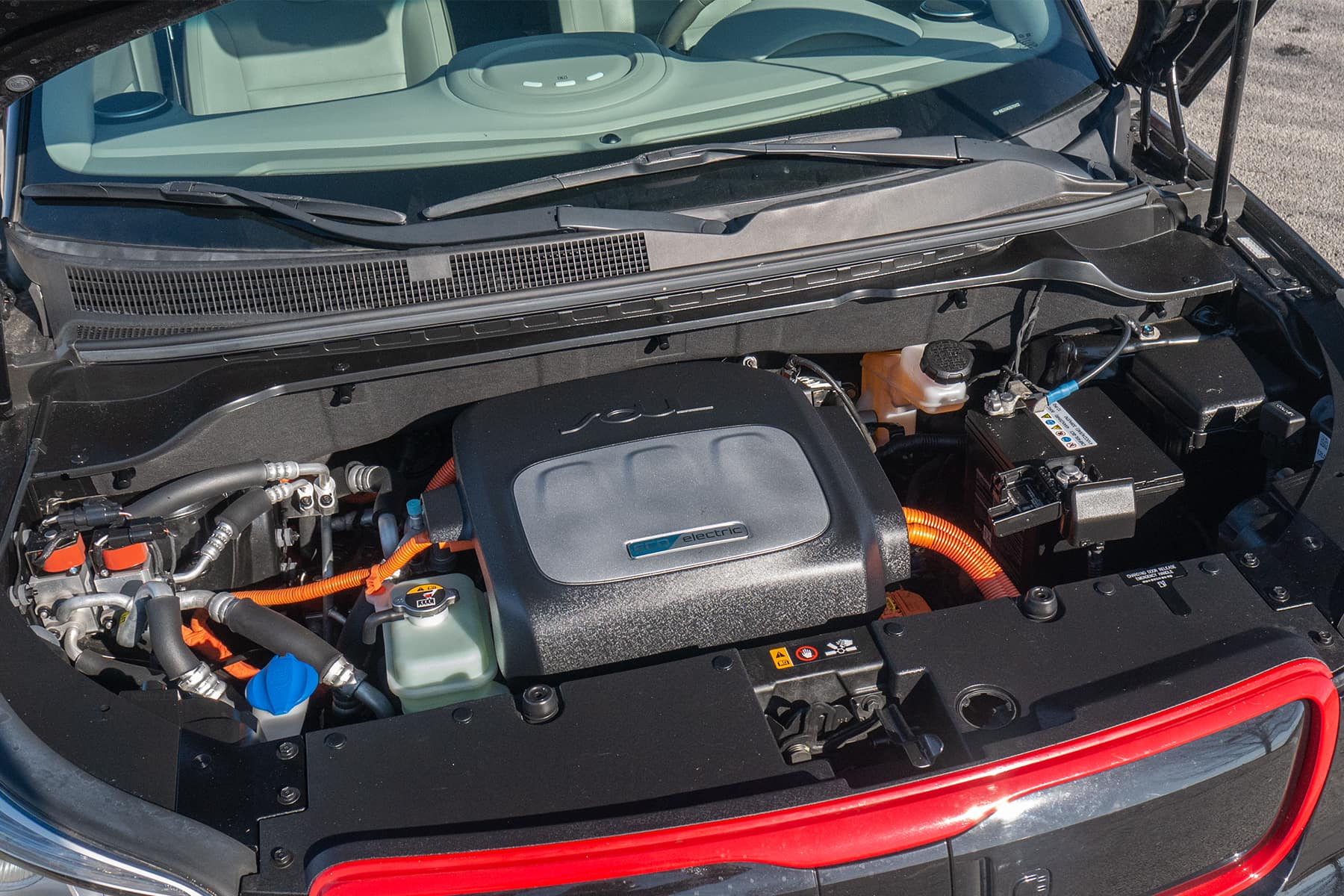 Kia Soul EV Engine Compartment