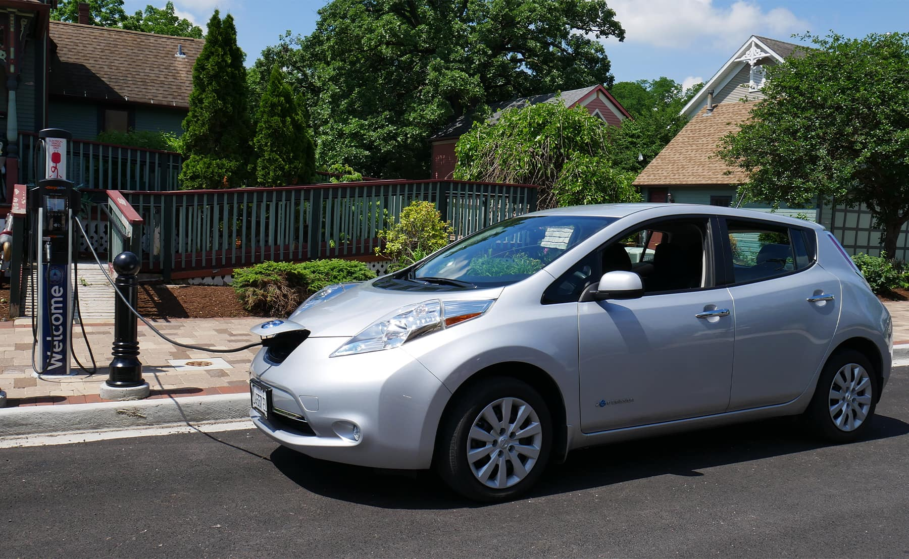 Nissan Leaf Public Charging