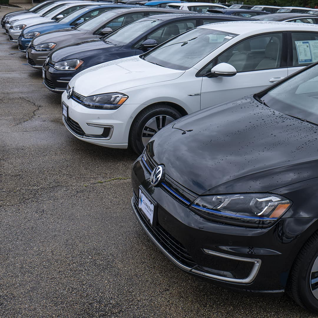 Volkswagen e-Golfs