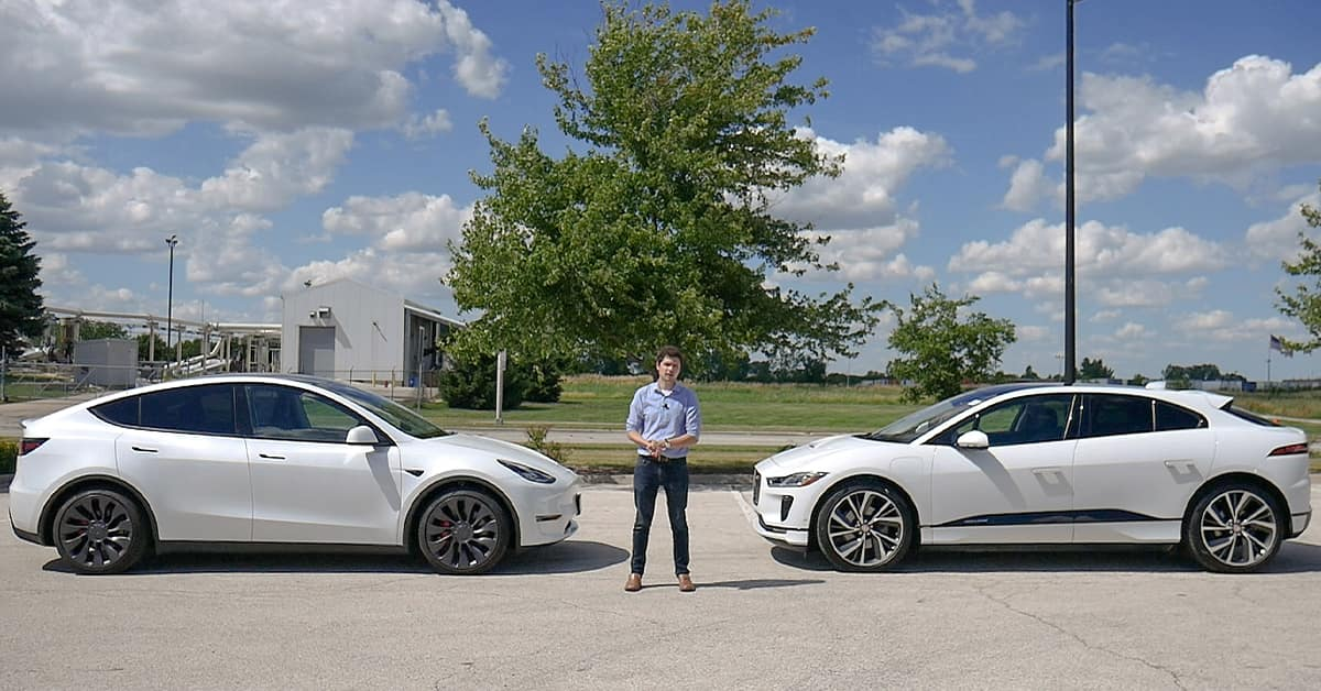 Tesla Model Y vs Jaguar I-Pace