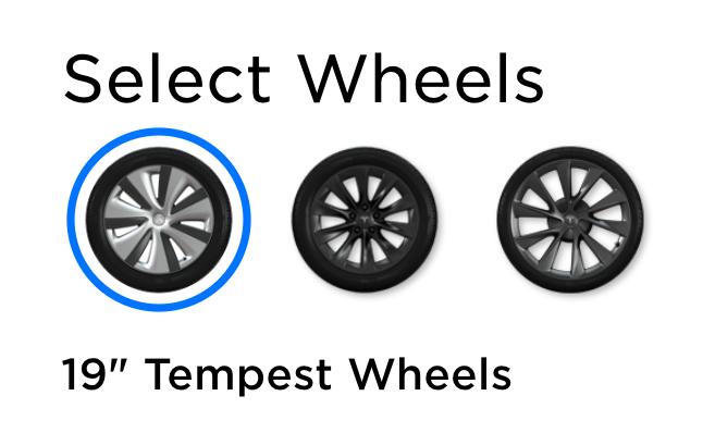 Tesla Tempest Wheels