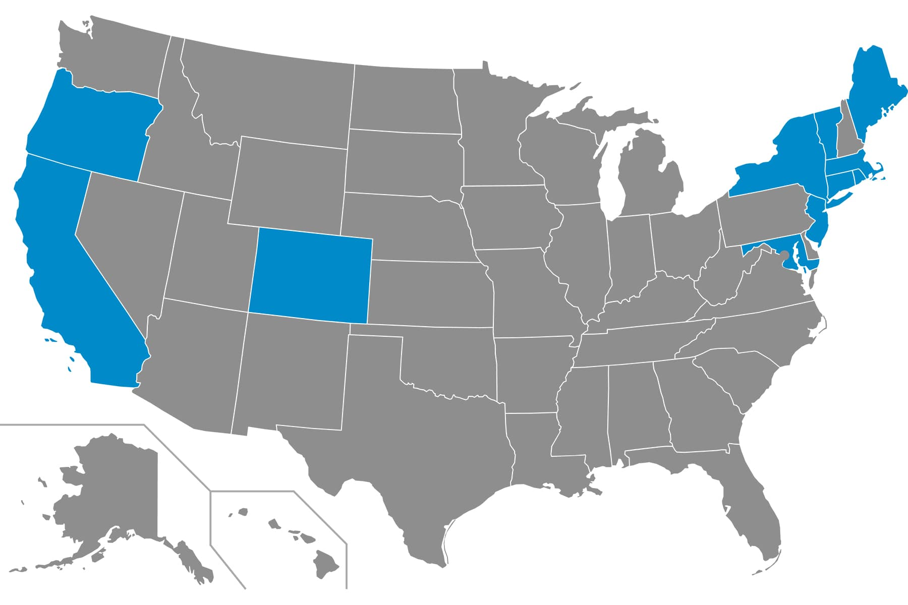 ZEV States 2020