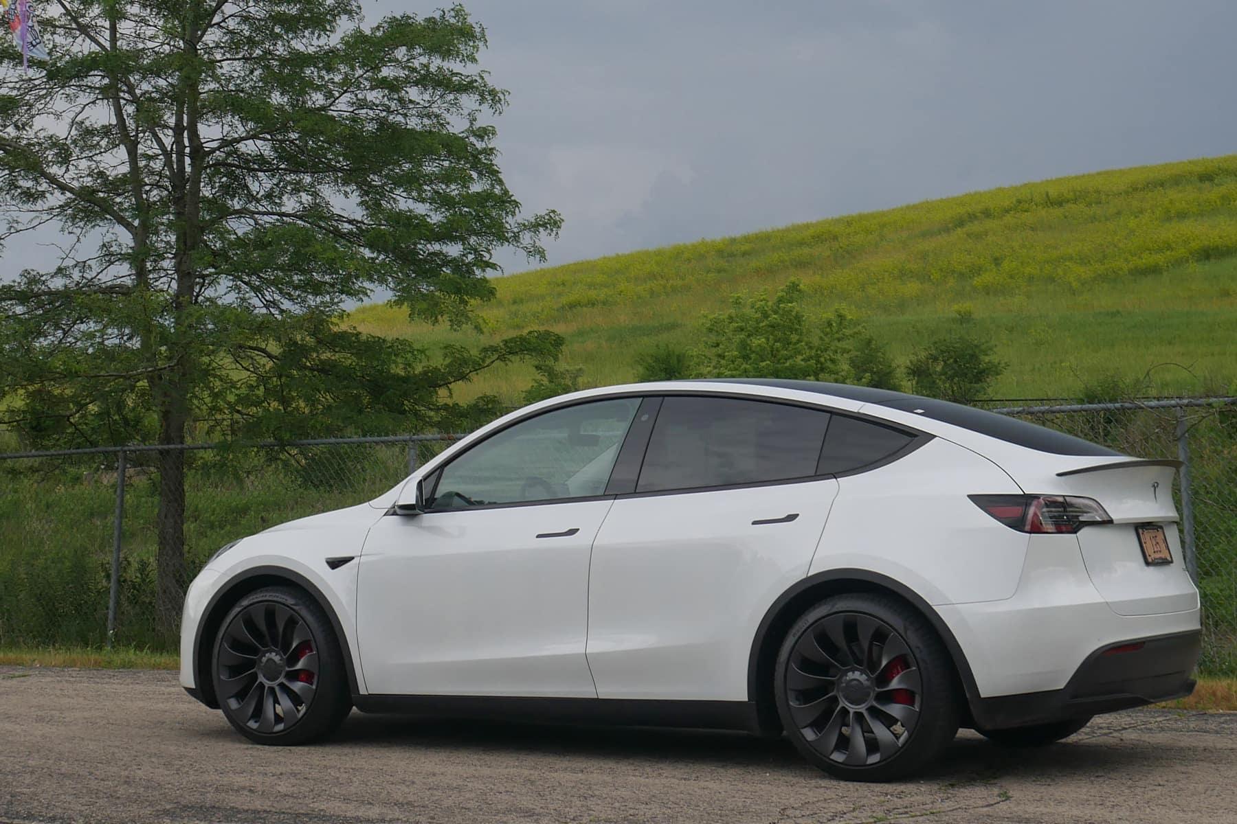 Tesla Model Y Range