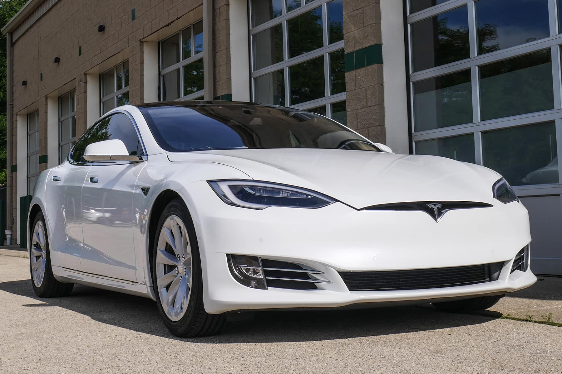 Tesla Model S Ready to Go