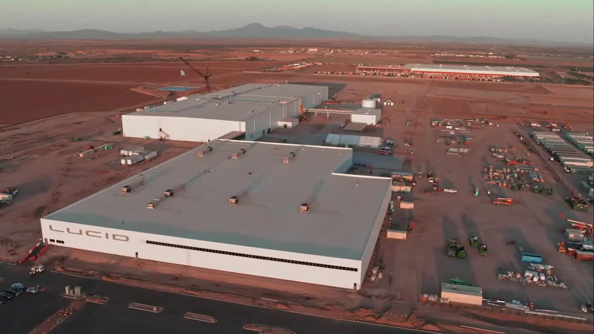 Lucid Motors Casa Grande Factory