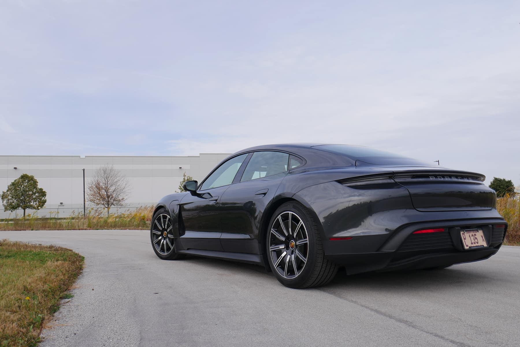 Porsche Taycan Rear Quarter