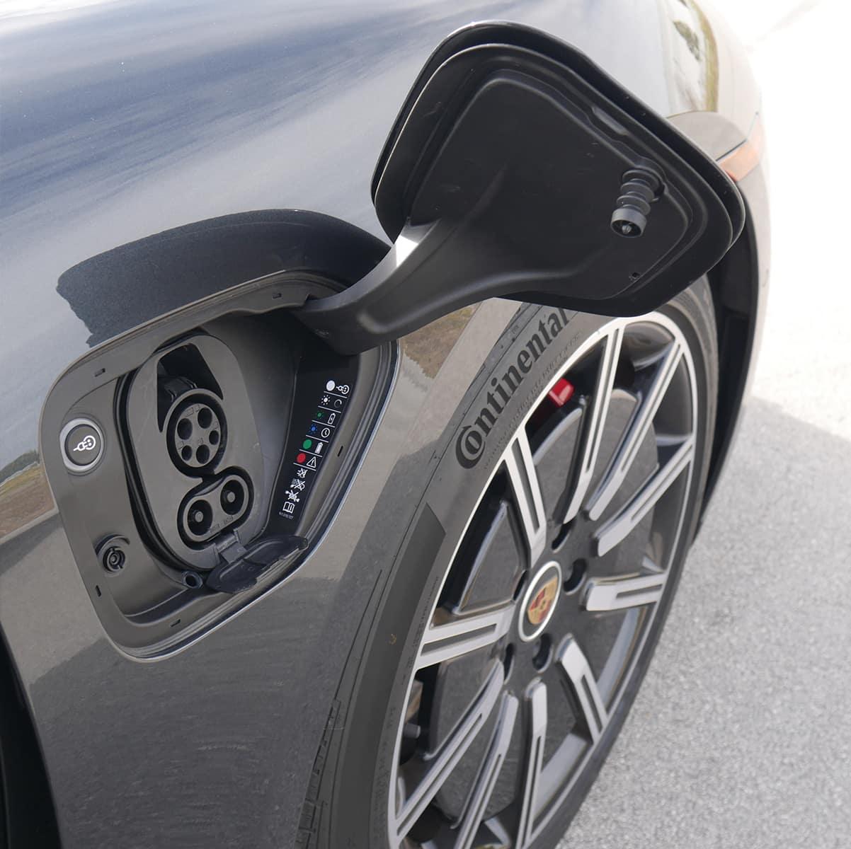 Porsche Taycan CCS Port