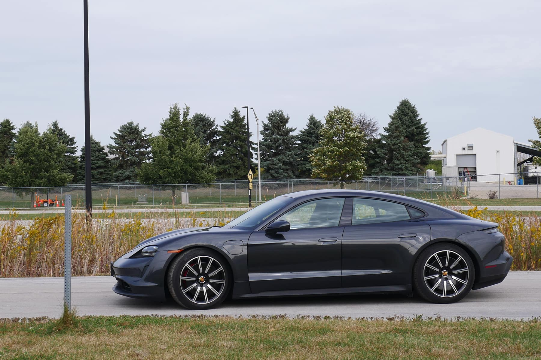 Porsche Taycan on Track
