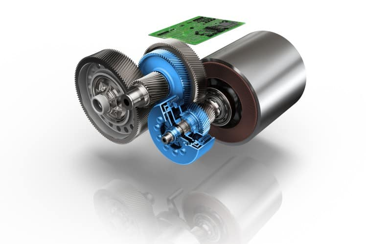 ZF's Two-Speed EV Transmission