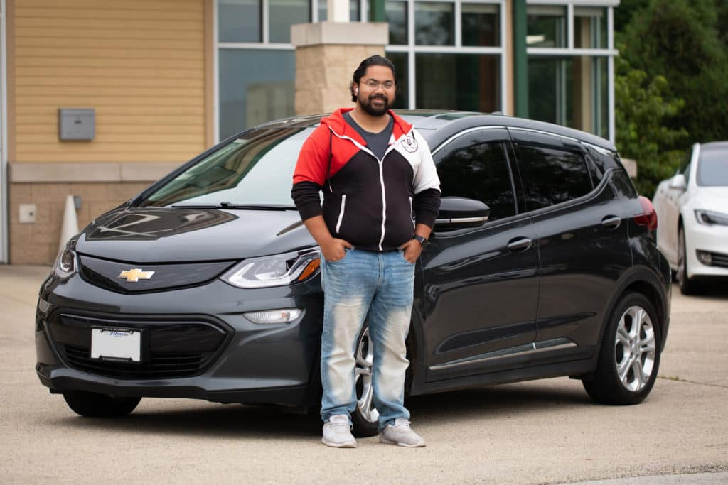 Jon and his 2017 Chevy Bolt