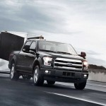 2016 Ford F-150 Towing Black