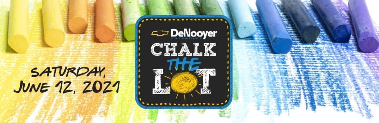 chalk the lot header