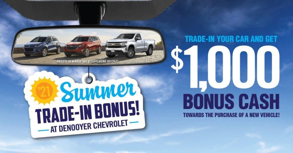 1000 dollar trade in bonus denooyer chevrolet
