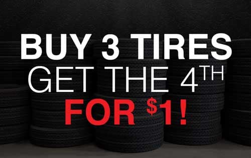 diehl chevrolet buick grove city tire special buy three tires get the fourth for $1