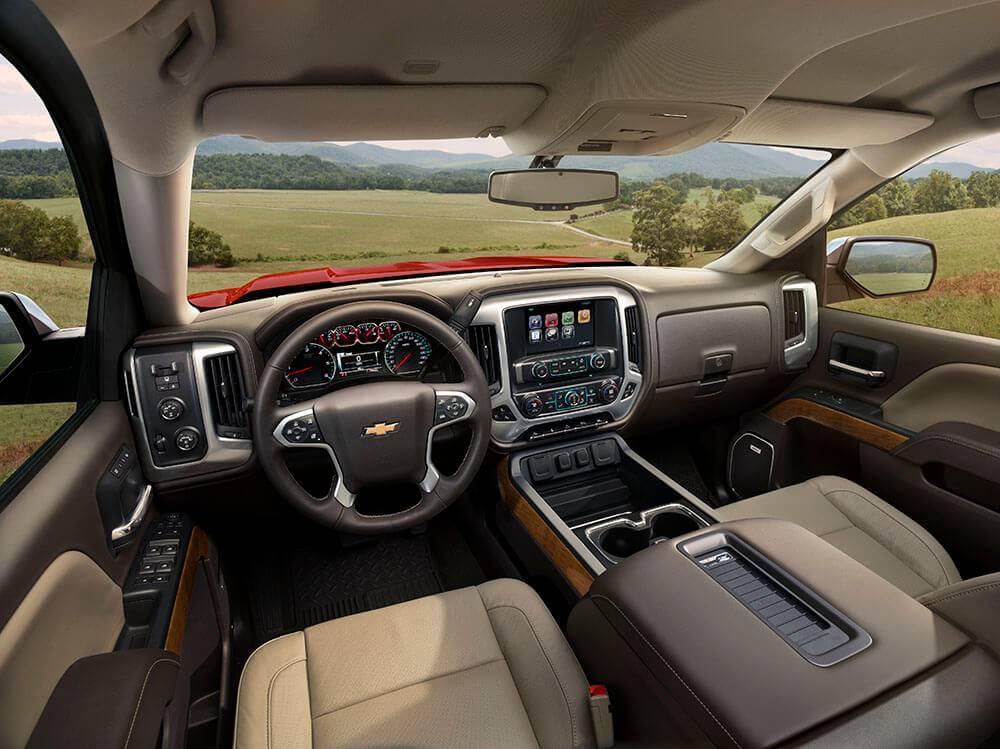 2017 Chevy Silverado 1500 Dash