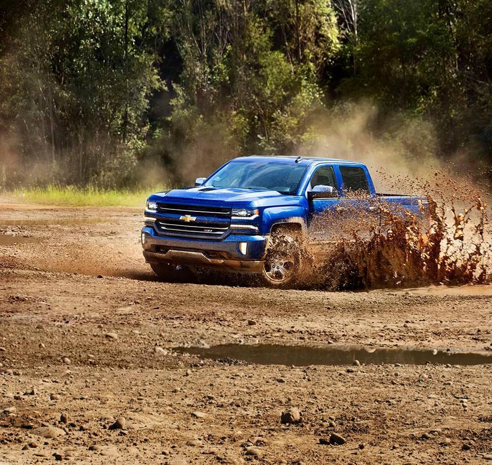 2017 Chevy Silverado 1500 Muddy