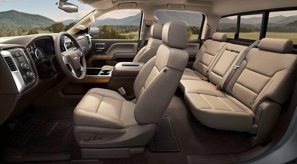 2017 Chevy Silverado 1500 Seats